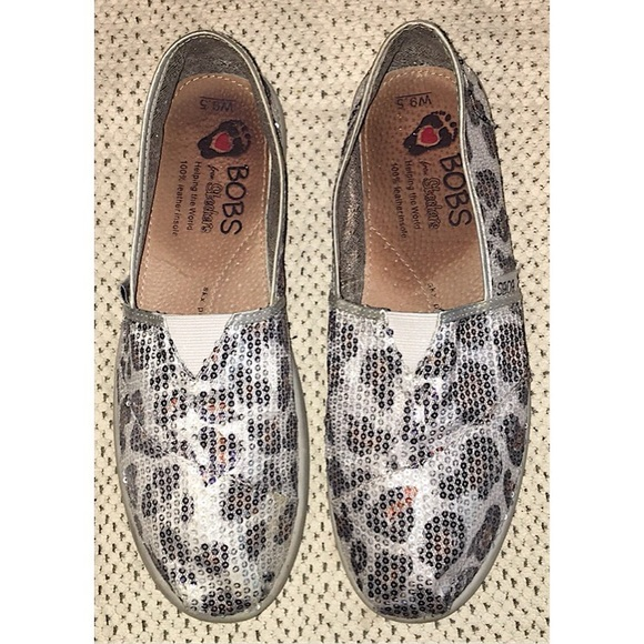 Skechers Shoes   Bobs From Animal Print